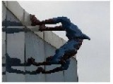 SPIDERMAN With An ERECTION Across Playground == To Be Removed