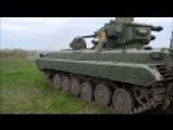 Test Shooting Of Modernised BMP-1 With Combat Module Shkval , Ukrainian Army