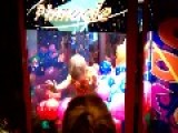 Little Boy Climbed Into Toy Claw Game And Got Trapped