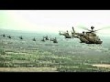 Mass Kiowa Warrior Flyover • World Record Most Helicopters