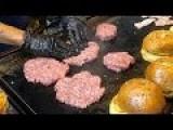 Special Hamburgers - Beef, Bacon, Cheese, Chips, Calamari Burgers | Koh Samui Thailand Street Food