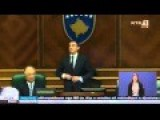 ''Kosovo'' Ministers Throwing Eggs At Each Other In The Parliament