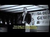 Germany - Speech By Götz Kubitschek About Situation Europe English Subtitles