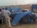 2 Big Truck Accident In Erbil, Kurdistan North Iraq