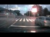 Drunk Russian Directs Traffic