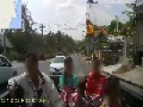Reckless Driver On Koh Samui Thailand Russian Company