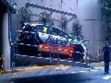 Great Rally Car Jump