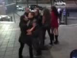 Five Way Catfight Outside Houston Club Fail