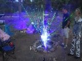 Wicked Campfire Laser Light Show Favorite