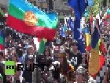 Chile: Tear Gas, Water Cannon After Mapuche March In Santiago
