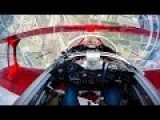 Stunt Pilot With Gimballed GoPro In Cockpit