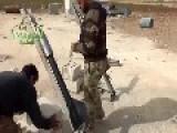 AHRAR AL-SHAM LAUNCH ROCKETS ON SAA-HIDEOUTS