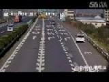 Tire Kills Man Pee On The Road