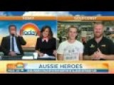 Unlikely Aussie Heroes Speak About The Robbery They Foiled On The Morning News