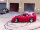 Donuts In A Million Dollar Ferrari
