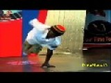 Ethiopian Man With One Arm And No Legs Dancing..*Incredible*