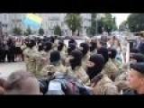 New Recruits Azov Battalion Take Oath Kiev, Sofiyskaya Ploshad
