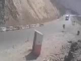 Nice Truck Crash