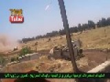 175th Regiment Of The Syrian Army Giving Terrorists A Hard Time