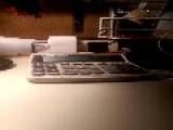 Ghost Communicates Through Printing Calculator