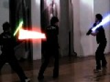 The Lightsaber Combat Academy