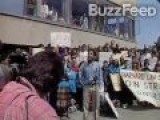 1991 Barack Obama Protesting On Harvard Campus - Breitbart Videos