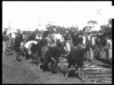 1930s Film Praising South African Natives For Their Hard Cheap Work On The Railway