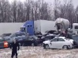 100 Car Pile Up I275 December 21,2012 From Youtube Upload By Justin Rauh
