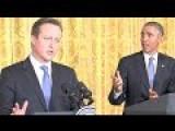 President Obama And Prime Minister Cameron FULL Conferance
