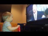 10 Month Old Baby Hates Brian Williams