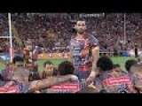 Greg Inglis Leads Indigenous War Dance At NRL All Star Match