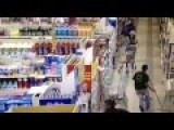 Palestinian Nut Job In Supermarket