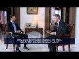 1 December 2015- Interview With President Bashar Al-Assad By Czech TV
