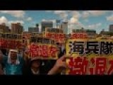 Japanese Masses Demand US Troops Out Of Okinawa