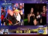 LIVE TV = Drunk Women Celebrate New Years Eve On Fox News: We're Gonna F%ck Sh*t Up!