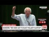 Bernie Sanders Gets Booed When He Tells Supporters They Should Vote For Hillary Clinton
