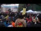10,000 People Demand Democracy In Hong Kong