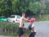 13 Year Old Boy - Boxing Skills