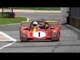 1972 Ferrari 312 PB 3.0L Flat-12 Sound - Warm Up & Fly Bys