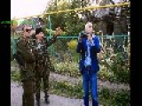 17 Years Old Girl Fighting In DPR Militia