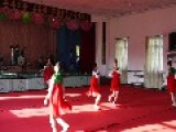 North Korean Middle School Students Dancing For Tourists