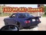 1650 HP RX7 The Sleeper Part 1