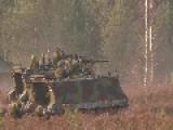 1st CAV 1st Brigade Combat Team In Firing Range