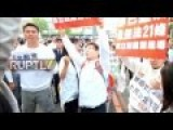 100,000 Rally To Protest Same Sex Marriage In Taiwan