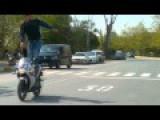 Honda CBR 125 Stunt Fail