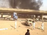 10 Killed In Riyadh Explosion - Riyadh Explosion Site Closeup HD