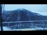 100 Foot Wave Hits Ship