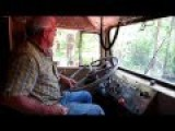 1955 Kenworth 523 Bullnose - Two Sticks Reaches Through The Wheel To Shift!