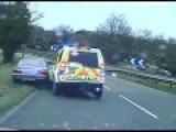 Police Video, No Audio, Jail For Driver Who Called 999 To Ask Police Pursuit Team To Stop Following Him