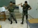 Syrian Soldiers Dance Moves